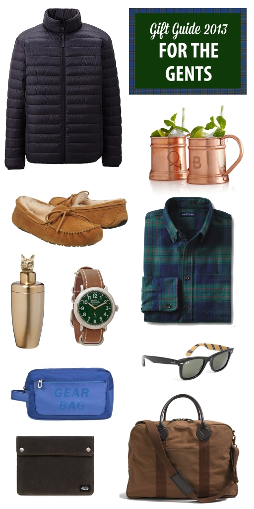 gift guide 2013: For The Gents