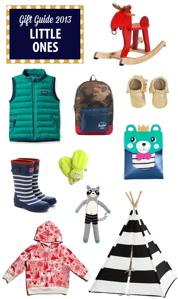 gift guide2013: Little Ones