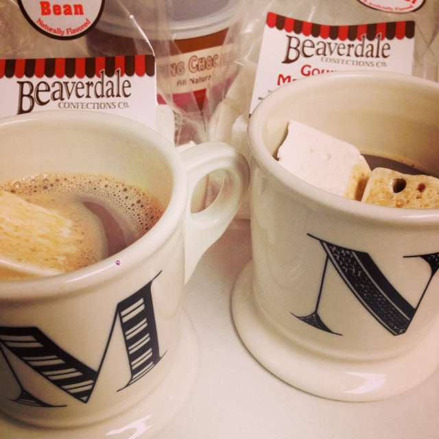 Beaverdale Confections hot cocoa + marshies
