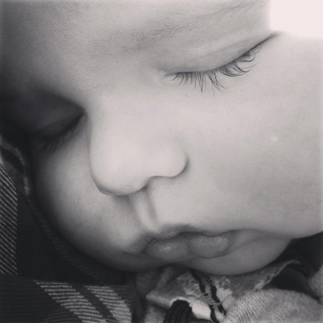 Everett's eyelashes