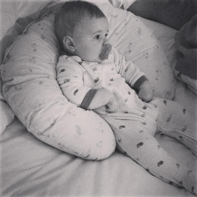 Everett jammies - 6.5 months