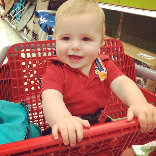 Evie loves Target