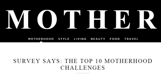 MotherhoodTop10Challenges
