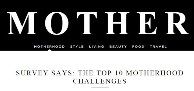 MotherhoodTop10Challenges