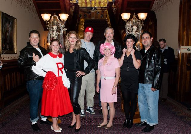 Halloween 2014 - Grease Family