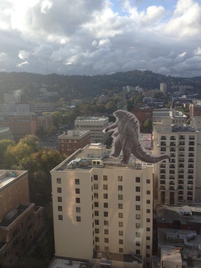 Godzilla in Portland