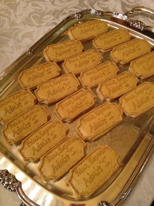 Everett First Birthday_ticketcookies
