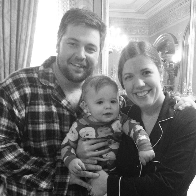 Everett First Birthday_family