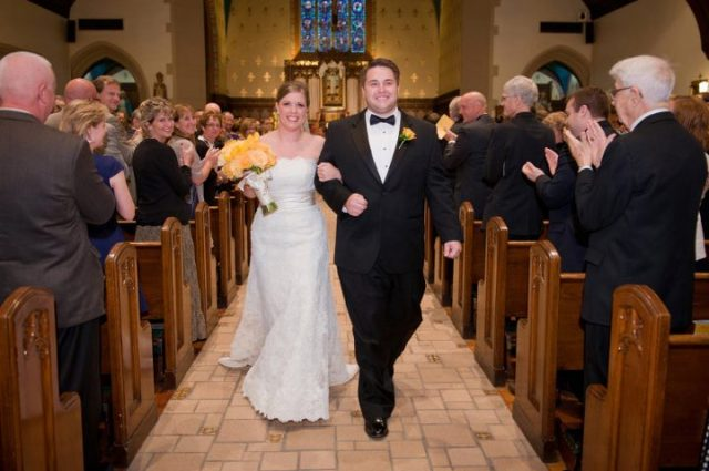 Branstad wedding 2011 _ after aisle walk