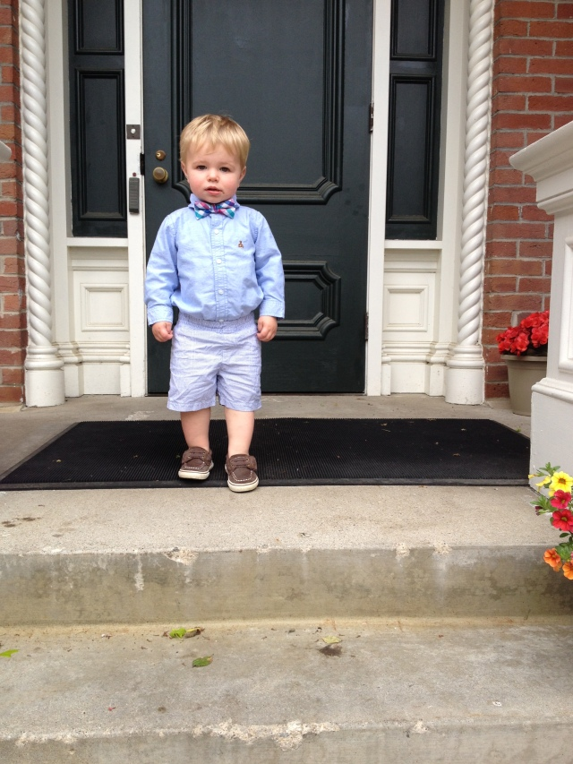 Everett dressed up at Terrace Hill