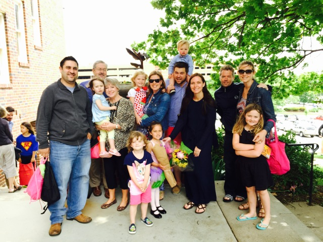 Branstad Family dance recital 2015