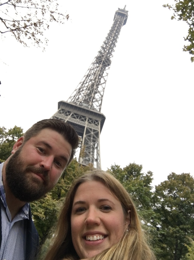 France 2015: Eiffel Tower Selfie