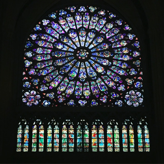 France 2015: stained glass