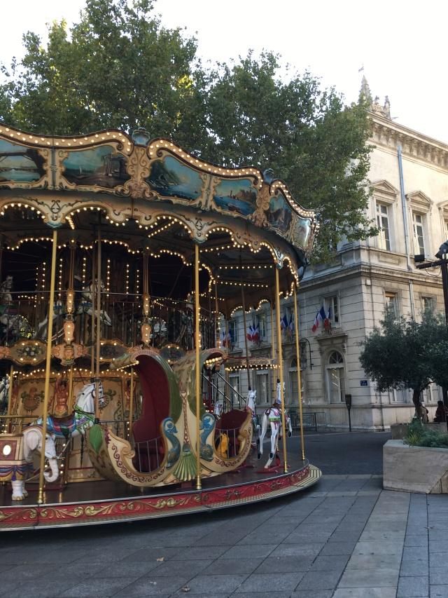 France 2015: Avignon carousel