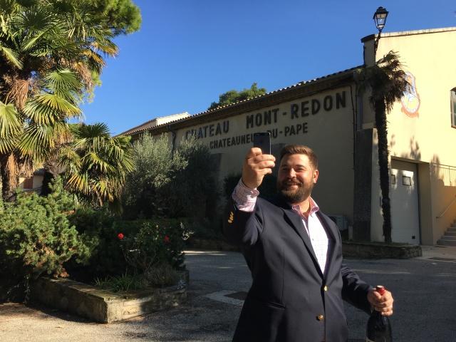 France 2015: Mont-Redon selfie