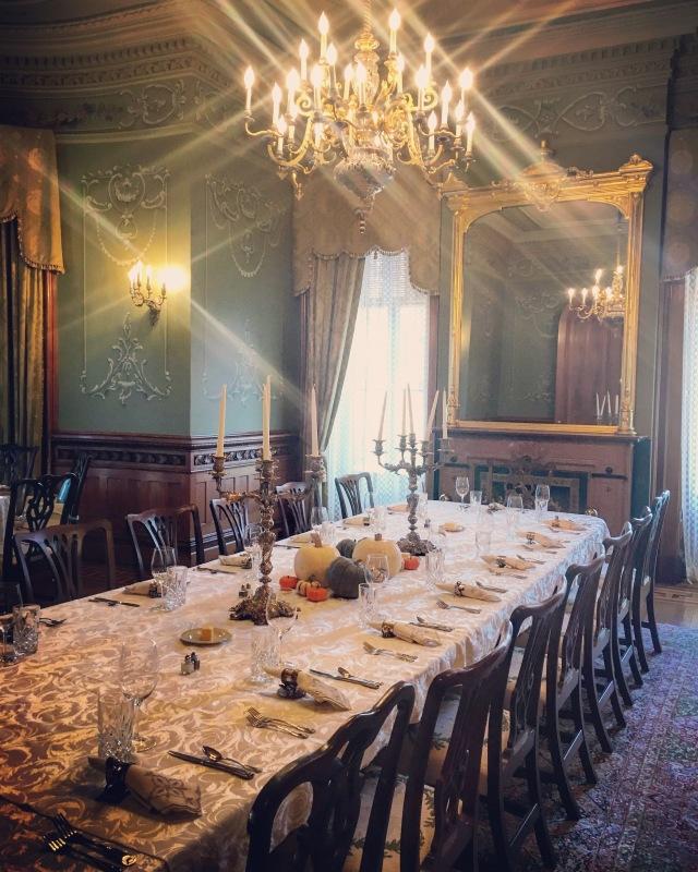 Turducken 2015: the table