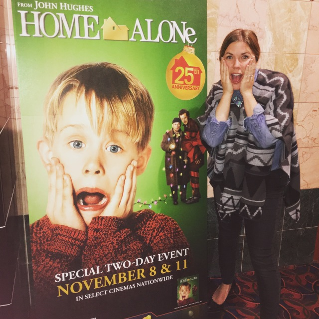 Home Alone 2015: the scream