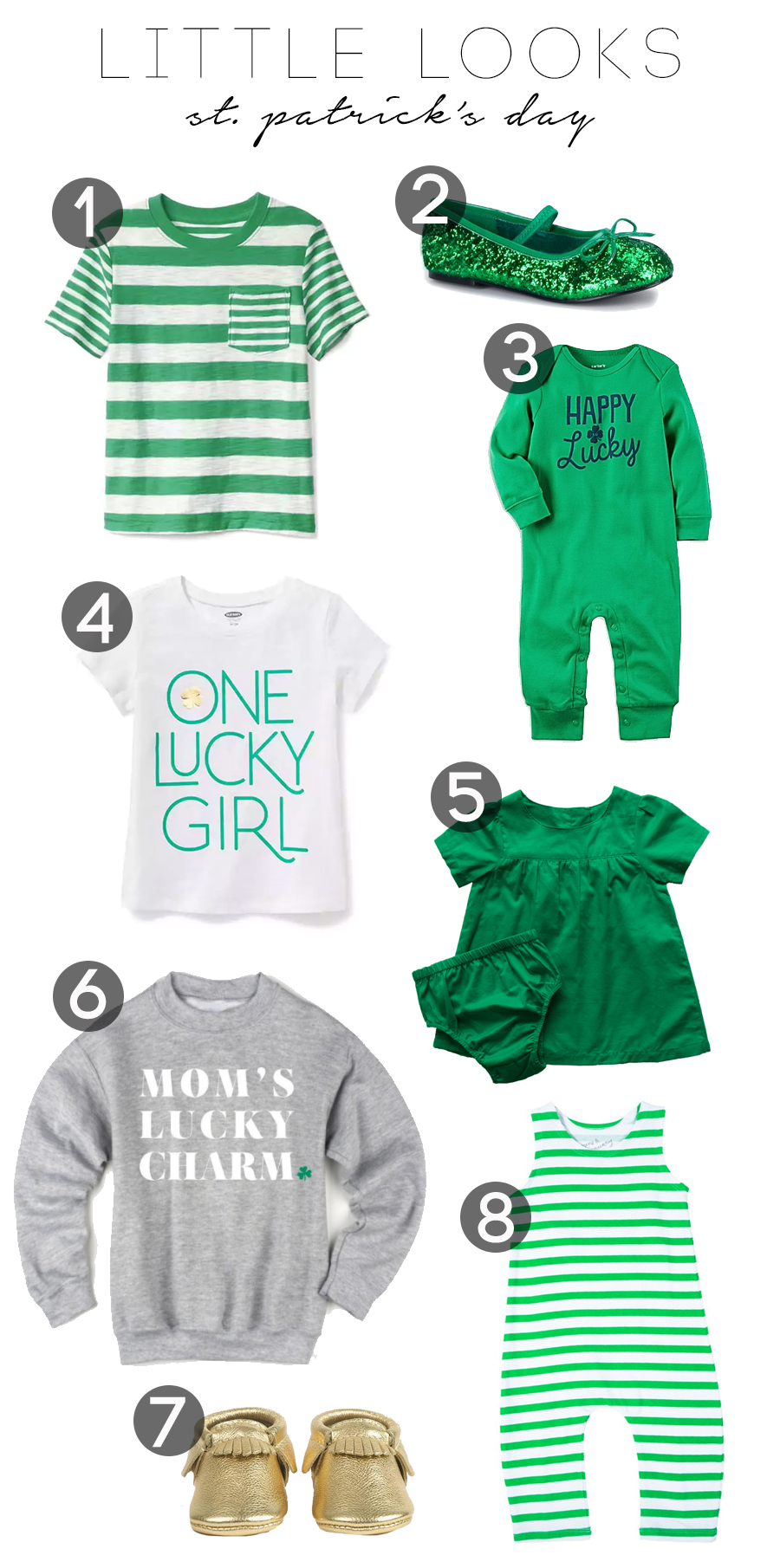 bc30374c2 Little looks: St. Patrick's Day 2017 | Tomorrow's To Dos