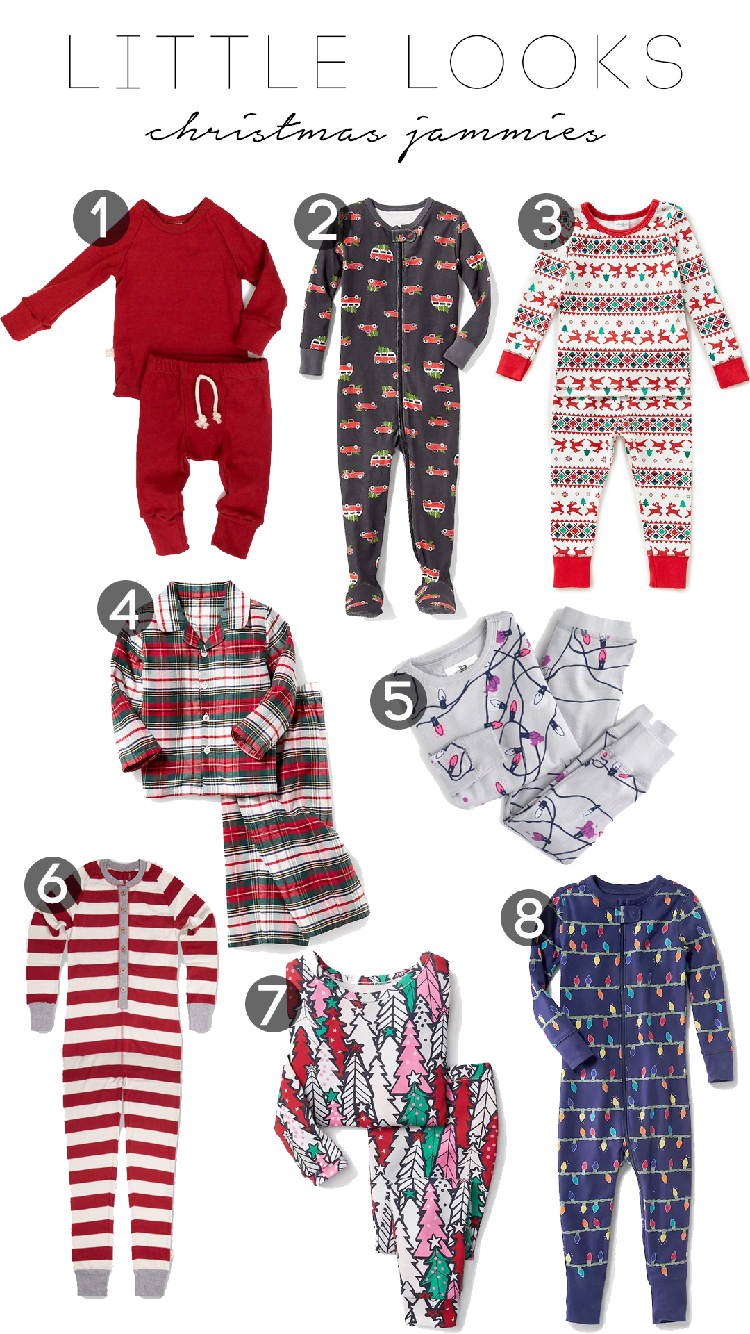 Little looks: Christmas jammies 2017 | Tomorrow\'s To Dos