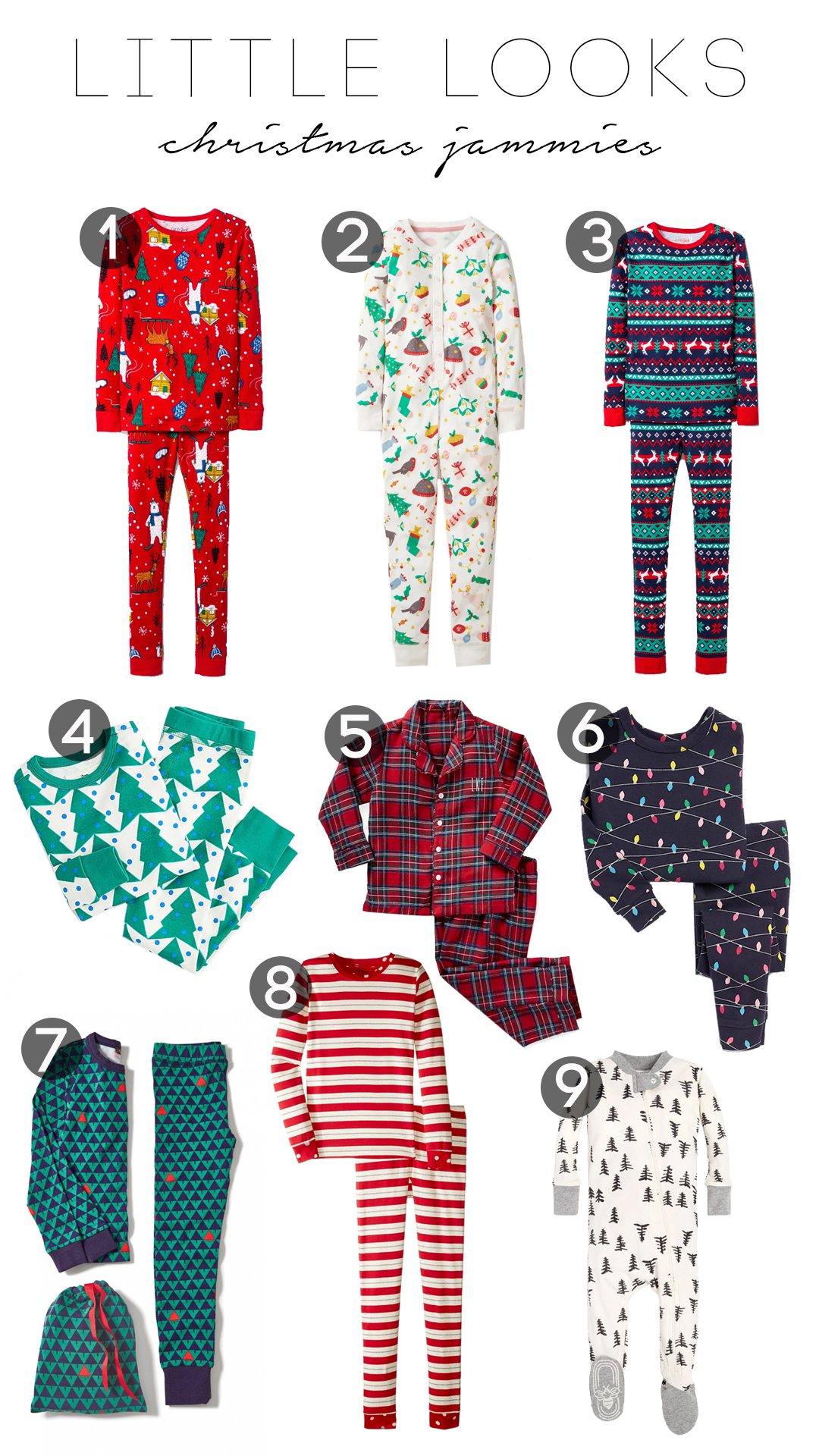 Little looks: Christmas jammies 2018 | Tomorrow\'s To Dos